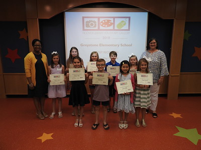 Greystone Elementary Young Artist Reception - May 2018