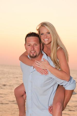 Kyle & Lauren.  Panama City Beach.