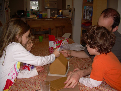 Building gingerbread house with Cialics 1.12.12