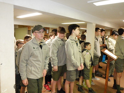 Troop Meeting - Nov 18