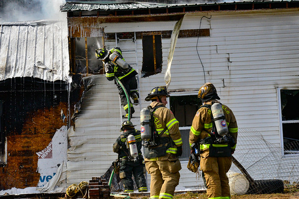 Fire destroys home in Rockingham - 033120