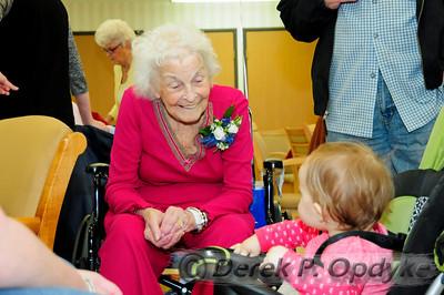 Audrey's 90th Birthday (Feb 27th, 2010)