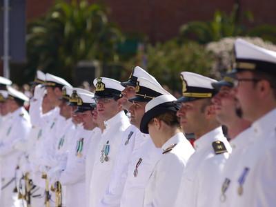 La Spezia - Festa della Marina 2011 - Visita del presidente Giorgio Napolitano