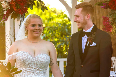Ashton and Jamal's Wedding