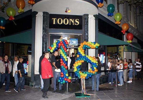 Toons Night Club 16th Anniversary Party-- San Jose, CA