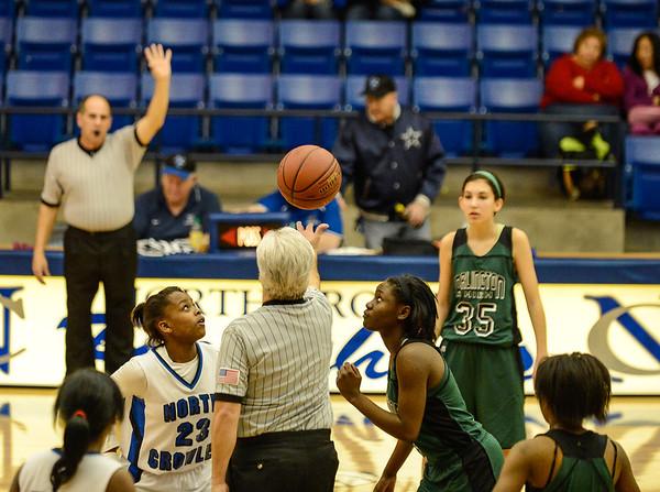 Basketball Girls JV vs  Arlington Colts 12-13-13