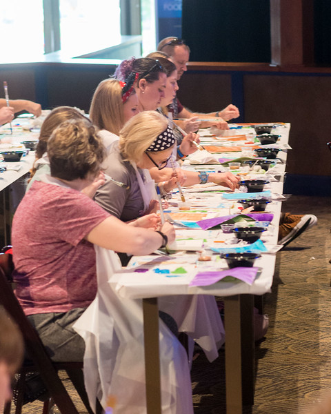 Art Class Fun - Epcot International Festival of the Arts 2017