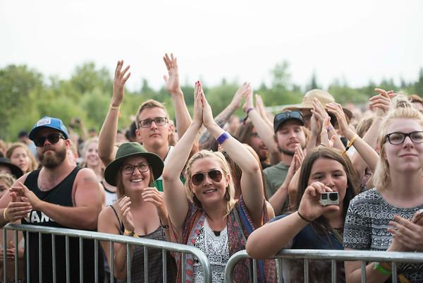 DAVID LIPNOWSKI / WINNIPEG FREE PRESS   People enjoy Folk Fest at Birds Hill Park Sunday July 10, 2016.