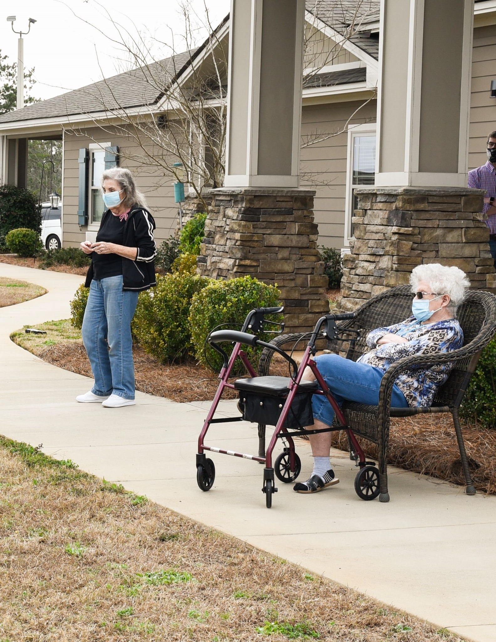 Residents at Fellowship Home.
