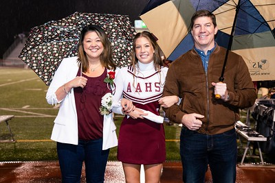 AAHS Senior Night Photos 10-26-18
