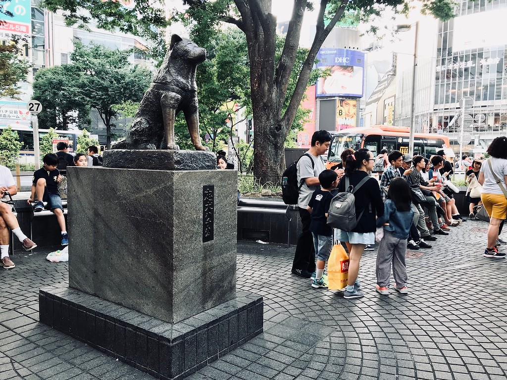 Hachiko Statue