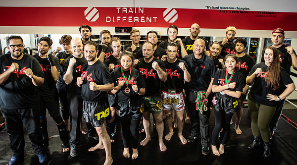 Tag Muay Thai at UFC GYM Alexandria December 2019