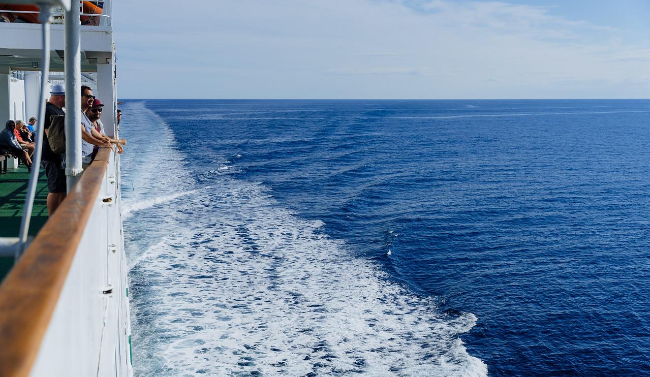 Sur la mer