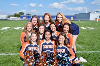 Oswego Senior girls cheer 2018/19