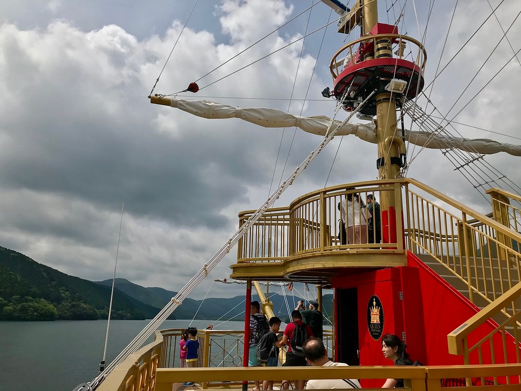 On the pirate ship bound for Togendai.