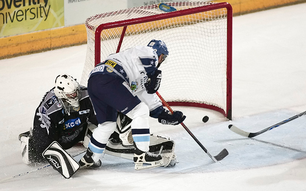 Blaze v Hull Stingrays - 12/10/2008