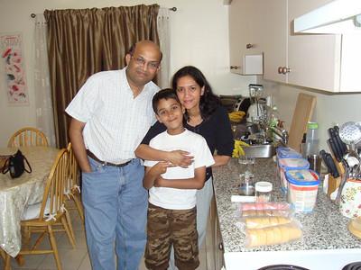 Toronto Trip Nitin Vaidya Family