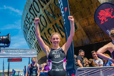 British ELite Sprint Championships - Womens Run Finish