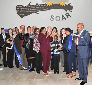Officials celebrate School No. 16 grand re-opening. 9/10/2018