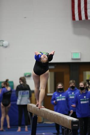 2021 Gymnastics - beam
