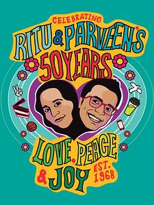 Parveen & Ritu's 50th Celebration