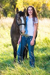 Nicole w/horse