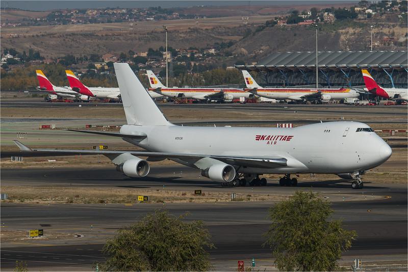 Kalitta / Boeing B747-4B5(F) / N701CK