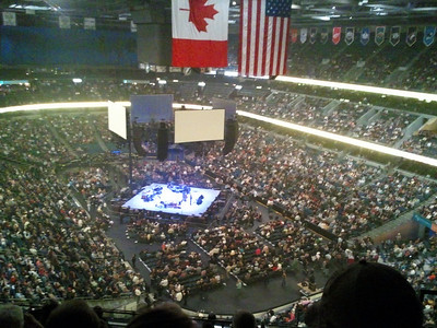 2011-01-29 Reba & George Strait concert