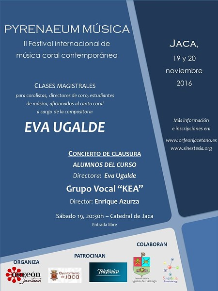 II Festival Internacional de Música coral contemporánea