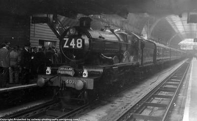 Ian Allan Great Western High Speed Railtour 9-5-1964