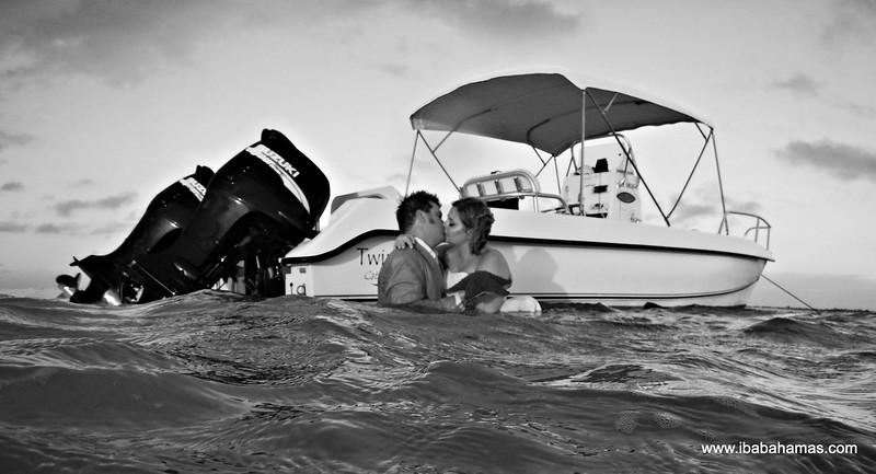 Wally & Shannon   Trash The Dress Session   Man-o-War Cay   Exuma Cays, Bahamas
