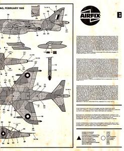 Airfix 1-48 Harrier GR3