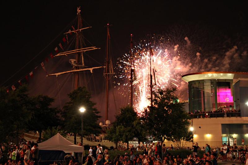 06/09/2012 - Harbor Fest Fireworks