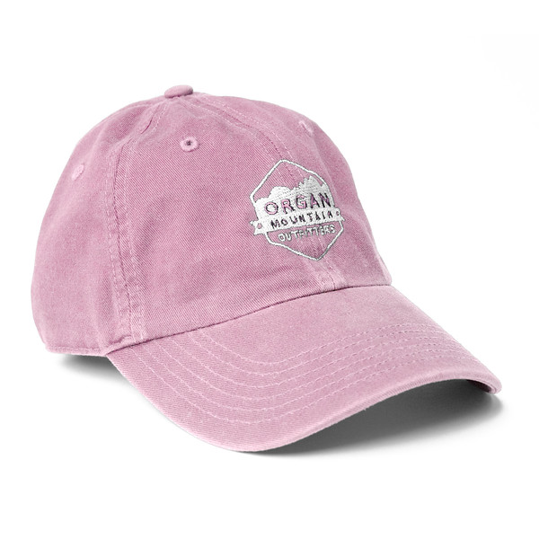 Outdoor Apparel - Organ Mountain Outfitters - Hat - Dad Cap Classic Logo - Pink.jpg