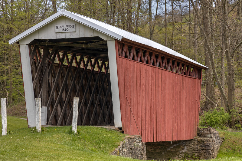 Trusel Covered Bridge 1