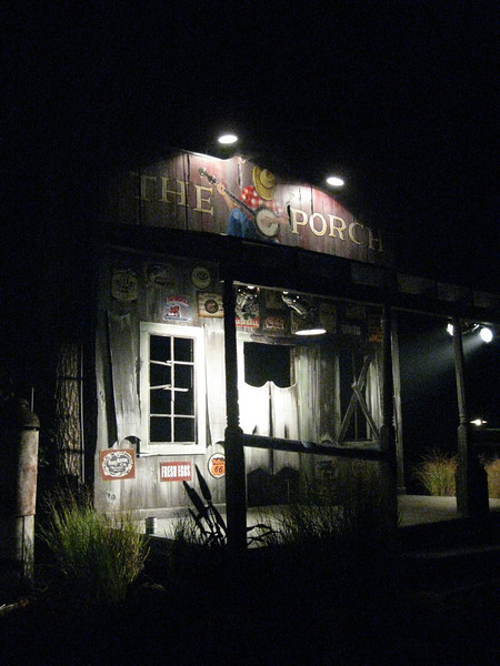 The Porch at night.