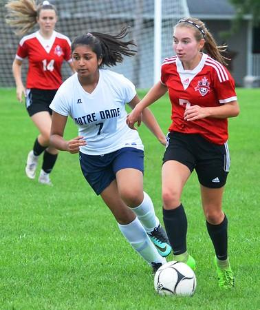 Girls Soccer: VVS vs. Notre Dame