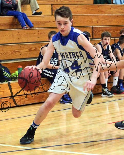 12-14-2015 Lawrence 8th grade Boys Vs Mt Blue