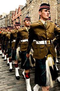 edinburgh armed forces day 2011