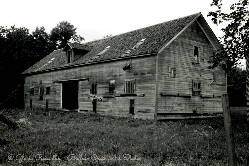 Black and White Grainery