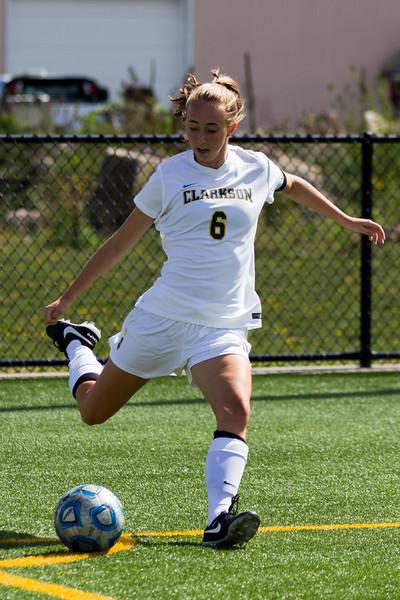 Clarkson Athletics: Women Soccer vs. Green Mountain College. Clarkson win 7-0