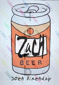 Zach's 30th Birthday