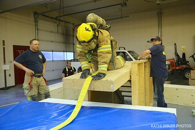 Firefighter Obstacle Course