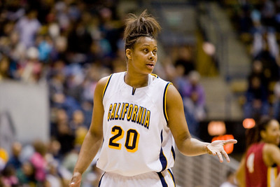 Cal Womens BBall vs USC February 2,2008