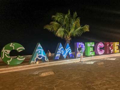 Colonial Campeche, Mexico, 2018-04-16