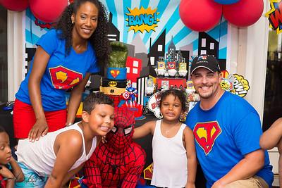 Jacob & Jayden Super Hero Birthday Party