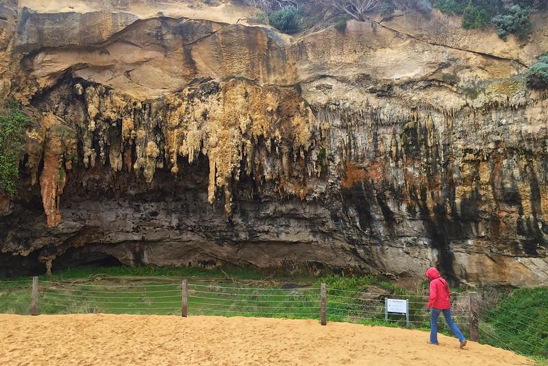 Stalagmites at Loch Ard Gorge - Great Ocean Road