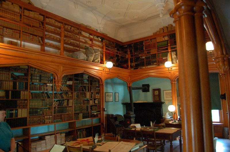 restored library in the capitol