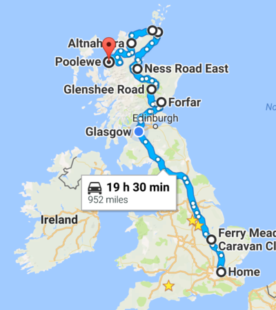 Touring Scotland 2016
