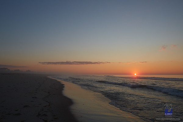 LBI Moonrise and Sunrise